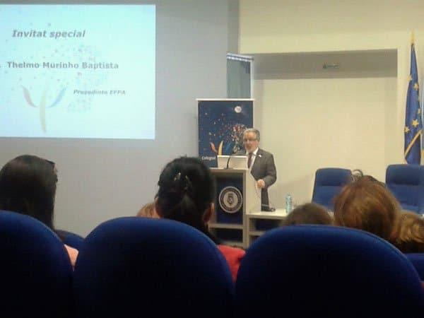 Thelmo Muronho Baptista, Presedinte EFPA