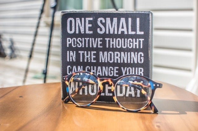 one small positive thing
